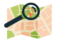 Inout Search Maps