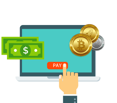Keys to pay cryptocurrency