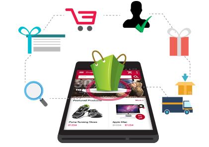Inout Shopping Cart Multi-Vendor Android App :: eCommerce Mobile App